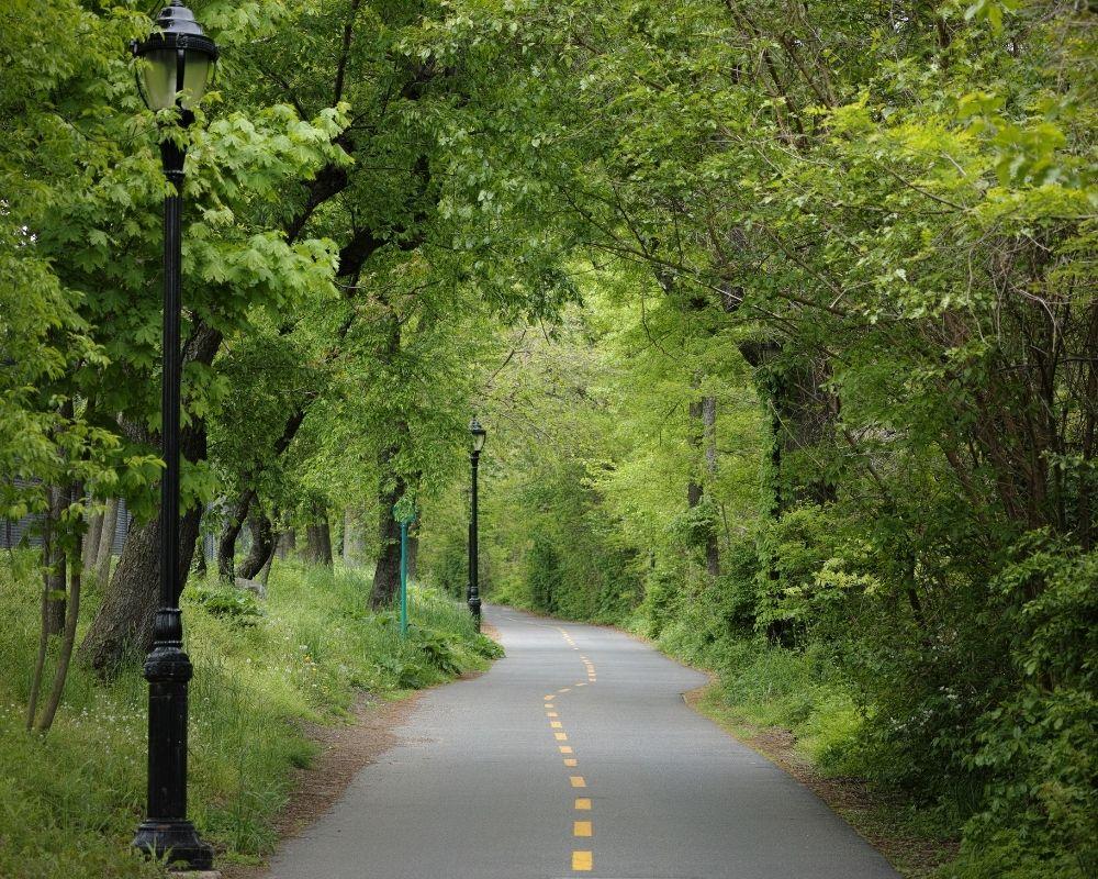 razorback regional greenway bike trail