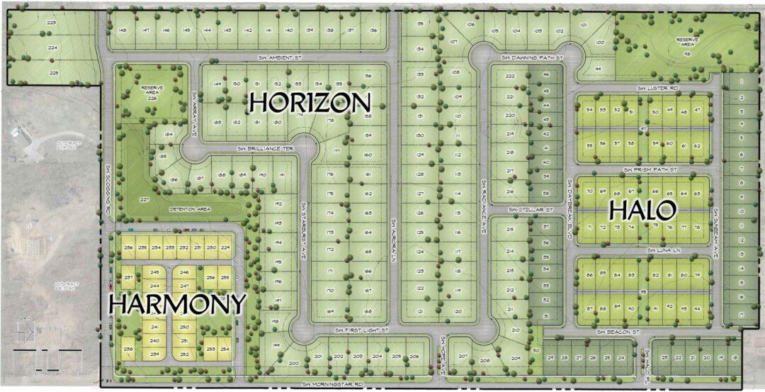 Aurora Site Plan
